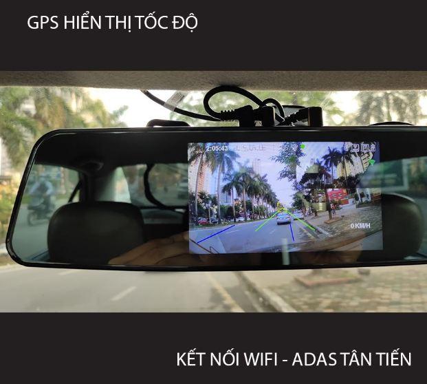 camera hành trình trên gương G8+