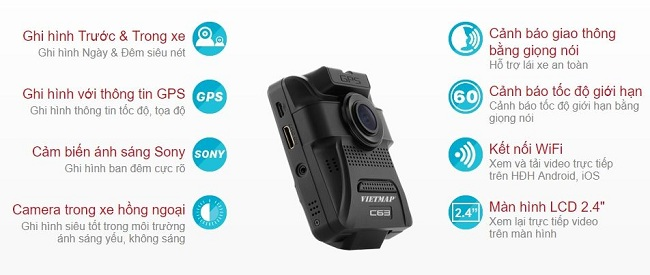 camera hành trình C63