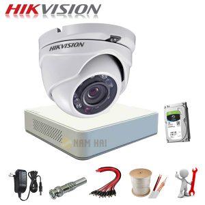 Trọn bộ 1 Camera Hikvision