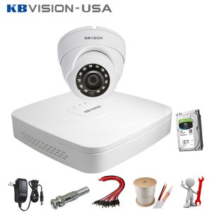 Trọn bộ 1 camera Kbvision